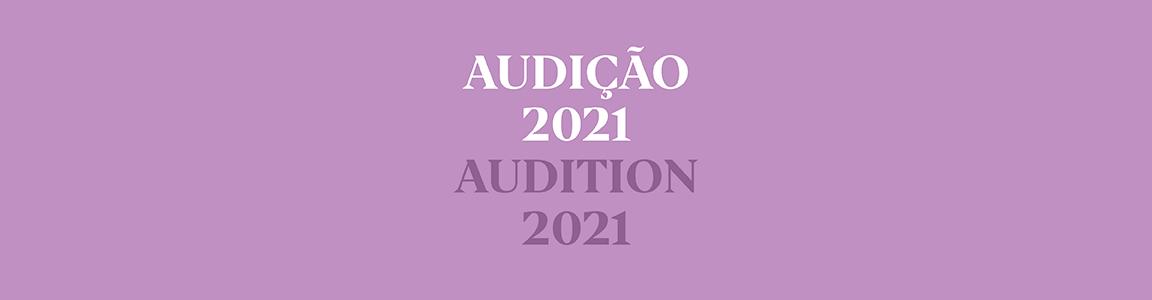 Audição para Bailarinos(as) / Audition for F/M Dancers
